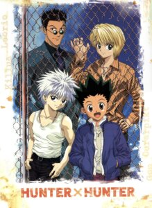 Rating: Safe Score: 9 Tags: gon_freecs hunter_x_hunter killua_zaoldyeck kurapika leorio male tagme User: Radioactive