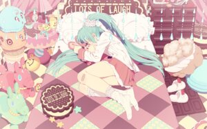 Rating: Safe Score: 25 Tags: hatsune_miku honya_lala lots_of_laugh_(vocaloid) vocaloid User: anaraquelk2