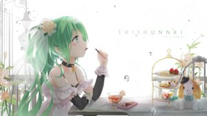 Rating: Safe Score: 68 Tags: cleavage hatsune_miku kuroi_asahi vocaloid User: Mr_GT