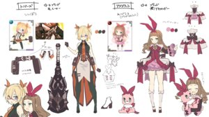 Rating: Safe Score: 10 Tags: character_design chibi last_period megane sketch tagme thighhighs weapon User: zyll