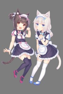 Rating: Safe Score: 27 Tags: animal_ears chocola heels maid neko_works nekomimi nekopara sayori tail thighhighs transparent_png vanilla User: Nico-NicoO.M.