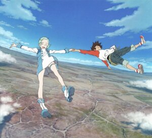 Rating: Safe Score: 12 Tags: dress eureka eureka_seven garter renton_thurston yoshida_kenichi User: Radioactive
