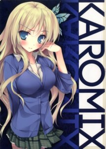 Rating: Questionable Score: 5 Tags: boku_wa_tomodachi_ga_sukunai cleavage karomix karory kashiwazaki_sena User: fireattack