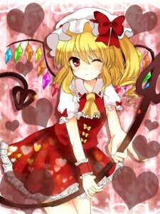 Rating: Safe Score: 15 Tags: flandre_scarlet shromann touhou wings User: Nekotsúh