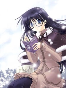 Rating: Safe Score: 13 Tags: megane pantyhose ryuuga_shou tsurugi_no_mai! User: RuriRuri