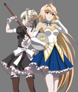 Rating: Safe Score: 53 Tags: archetype_earth arcueid_brunestud carnival_phantasm fate/stay_night garter maid saber saber_alter thighhighs transparent_png tsukihime vector_trace User: omegakung