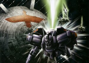 Rating: Safe Score: 4 Tags: gundam gundam_f91 landscape mecha User: drop