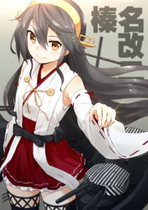 Rating: Safe Score: 25 Tags: haruna_(kancolle) kantai_collection nagian thighhighs User: fairyren