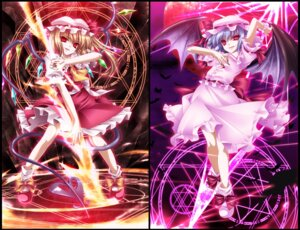 Rating: Safe Score: 16 Tags: flandre_scarlet monety remilia_scarlet touhou wings User: 椎名深夏