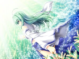 Rating: Safe Score: 13 Tags: akashio kochiya_sanae touhou wallpaper User: konstargirl