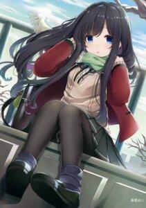 Rating: Safe Score: 72 Tags: ao_no_neko pantyhose seifuku sweater User: Hatsukoi