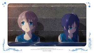Rating: Safe Score: 9 Tags: hiradaira_chisaki isaki_kaname nagi_no_asukara seifuku User: alice4