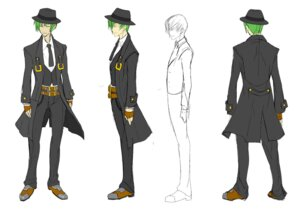 Rating: Safe Score: 4 Tags: arc_system_works blazblue blazblue:_calamity_trigger character_design hazama male monochrome mori_toshimichi sketch User: HaruhiSuzumiya