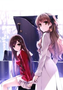 Rating: Safe Score: 147 Tags: kuroya_shinobu misaki_kurehito morikawa_yuki ogata_rina white_album User: Twinsenzw