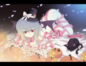 Rating: Questionable Score: 9 Tags: auer halloween naked_ribbon remilia_scarlet touhou wings User: konstargirl