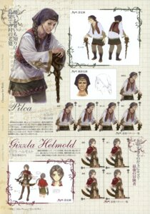 Rating: Safe Score: 4 Tags: atelier atelier_rorona atelier_totori character_design expression gizzla_helmold kishida_mel pilca profile_page User: crim