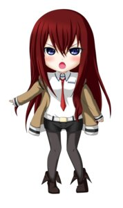 Rating: Safe Score: 17 Tags: chibi jpeg_artifacts kuena makise_kurisu pantyhose steins;gate User: shizukane