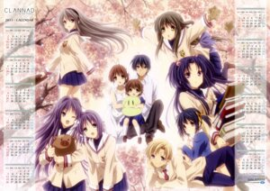 Rating: Safe Score: 35 Tags: botan_(clannad) calendar clannad clannad_after_story dress fujibayashi_kyou fujibayashi_ryou furukawa_nagisa ibuki_fuuko ichinose_kotomi ikeda_kazumi okazaki_tomoya okazaki_ushio sakagami_tomoyo seifuku summer_dress sunohara_mei sunohara_youhei User: fireattack