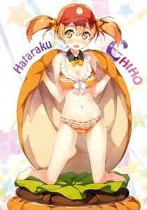 Rating: Safe Score: 152 Tags: 5_nenme_no_houkago bikini cleavage hataraku_maou-sama! kantoku sasaki_chiho swimsuits User: Hatsukoi