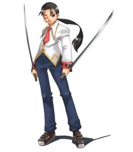 Rating: Safe Score: 3 Tags: gakuen_toshi_vara_noir hirano_katsuyuki idea_factory ku-ya male seifuku sword User: Radioactive