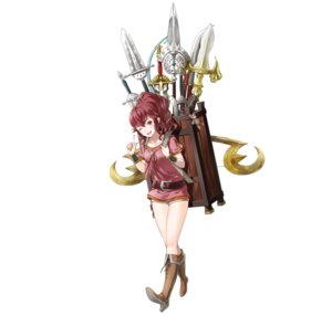 Rating: Questionable Score: 8 Tags: anna_(fire_emblem) fire_emblem fire_emblem_heroes fire_emblem_kakusei heels kaya8 nintendo weapon User: fly24