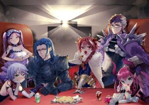 Rating: Questionable Score: 7 Tags: armor astolfo_(fate) bandages cleavage dress elizabeth_bathory_(brave)_(fate) fate/grand_order horns isaki_uta jack_the_ripper lancelot_(fate/grand_order) megane pointy_ears tattoo trap User: Dreista