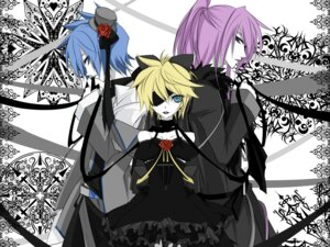 Rating: Safe Score: 17 Tags: crossdress eyepatch gothic_lolita haru_aki imitation_black_(vocaloid) kagamine_len kaito kamui_gakupo lolita_fashion male vocaloid User: charunetra