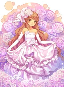 Rating: Safe Score: 29 Tags: dress tsubasa_tsubasa wedding_dress User: Radioactive