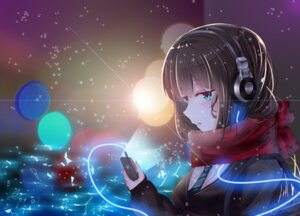 Rating: Safe Score: 45 Tags: headphones re:rin seifuku shibuya_rin the_idolm@ster the_idolm@ster_cinderella_girls User: mash