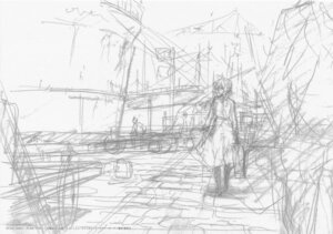 Rating: Safe Score: 4 Tags: monochrome sketch violet_evergarden violet_evergarden_(character) User: tuyenoaminhnhan