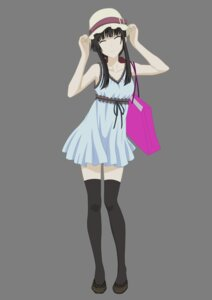 Rating: Safe Score: 35 Tags: dress sanka_rea sankarea thighhighs transparent_png vector_trace User: lotus