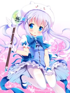 Rating: Questionable Score: 114 Tags: cameltoe gochuumon_wa_usagi_desu_ka? kafuu_chino loli pantsu pantyhose tippy_(gochuumon_wa_usagi_desu_ka?) weapon yagami-all_hail_nanao User: Mr_GT