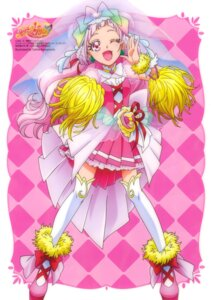 Rating: Questionable Score: 6 Tags: dress hugtto!_precure kawamura_toshie thighhighs User: drop