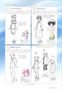 Rating: Safe Score: 3 Tags: asagiri_mai bekkankou feena_fam_earthlight mia_clementis pajama sketch takamizawa_natsuki wreathlit_noel yoake_mae_yori_ruriiro_na User: admin2