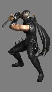 Rating: Questionable Score: 2 Tags: bodysuit male ninja ninja_gaiden_3 ryu_hayabusa sword User: Yokaiou