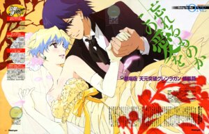 Rating: Safe Score: 21 Tags: dress hayashi_akemi nia simon tengen_toppa_gurren_lagann wedding_dress User: 7Th