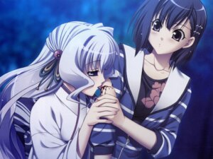 Rating: Safe Score: 12 Tags: aoi_shiro blood hal kimono nami_(aoi_shiro) osanai_shouko success User: Radioactive
