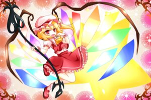 Rating: Safe Score: 11 Tags: flandre_scarlet takato_iyuri touhou wings User: Manabi