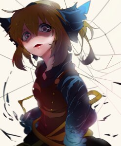 Rating: Safe Score: 13 Tags: dress ikurauni kurodani_yamame touhou User: charunetra