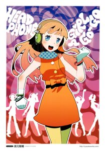 Rating: Safe Score: 4 Tags: hamamoto_ryuusuke headphones User: Aurelia