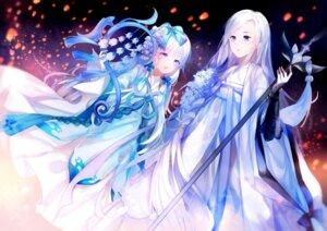 Rating: Safe Score: 15 Tags: asian_clothes tianxia weapon yu_jiu yuri User: sym455