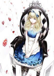 Rating: Safe Score: 53 Tags: alice alice_in_wonderland dress sawasawa User: Radioactive