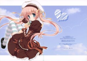Rating: Safe Score: 25 Tags: dress fixme frill_frill gap morinaga_korune thighhighs User: midzki