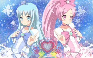 Rating: Safe Score: 8 Tags: hanasaki_tsubomi heartcatch_pretty_cure! kurumi_erika pretty_cure wallpaper yuyui User: Manabi