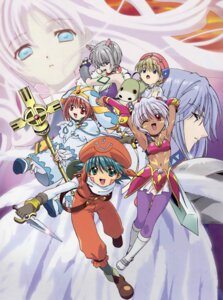 Rating: Safe Score: 4 Tags: aura balmung .hack// .hack//legend_of_the_twilight hotaru kunisaki_rena kunisaki_shuugo mireille ouka User: Radioactive