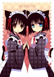 Rating: Safe Score: 25 Tags: animal_ears izumi_makoto maid nekomimi User: Radioactive
