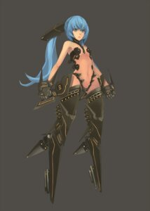 Rating: Questionable Score: 15 Tags: mecha_musume thighhighs yucca-612 User: Radioactive