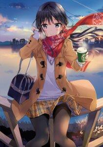 Rating: Safe Score: 70 Tags: masamune-kun_no_revenge pantyhose seifuku skirt_lift sweater tiv User: Twinsenzw