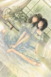 Rating: Safe Score: 32 Tags: dress feet flowers innocent_grey sugina_miki takasaki_chidori yaegaki_erika User: Hatsukoi