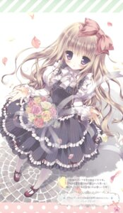 Rating: Safe Score: 51 Tags: dress frill_frill morinaga_korune User: petopeto